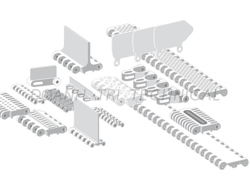 Các loại băng tải nhựa Forbo Siegling dòng Prolink