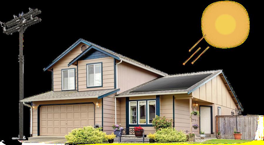 Hệ Thống 10 KW điện năng lượng mặt trời cho hộ gia đình